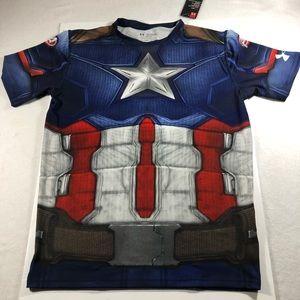 UA Captain America Alter Ego Compression Shirt